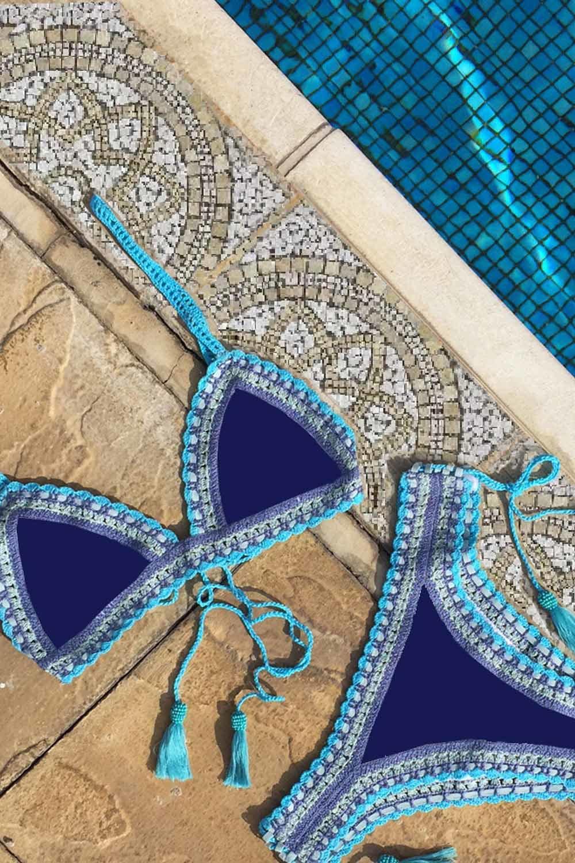 crochet handmade bikini