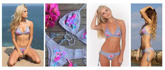 crochet bikini RiniKini Anna