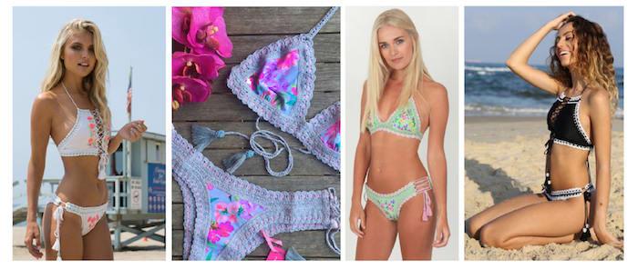 Rinikini handmade crochet bikini