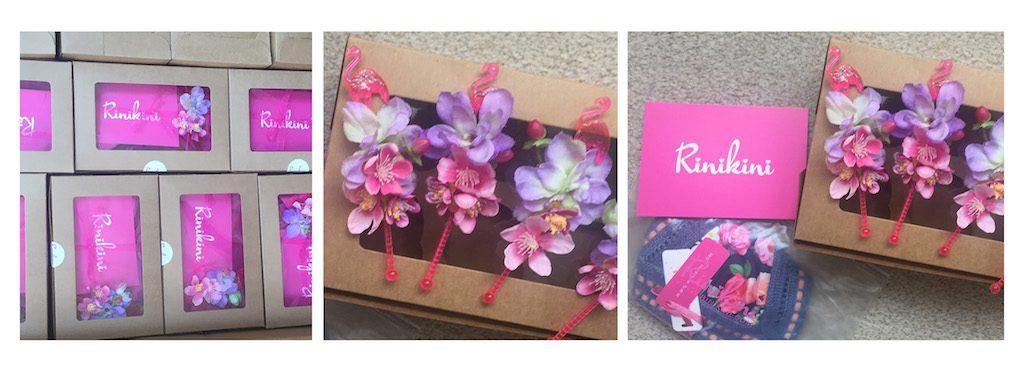 Rinikini gift boxes splash paris